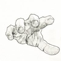 Hand Palm down